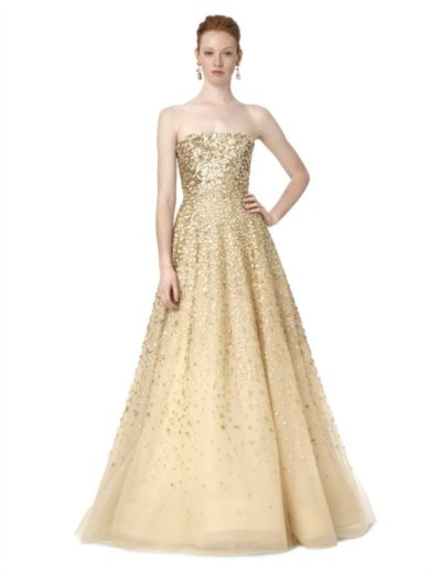 loverly gold gown